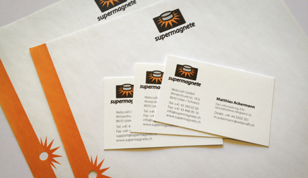 Supermagnete business cards